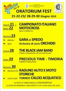 Oratorium Fest a Borgo San Giacomo @ Oratorio Borgo San Giacomo