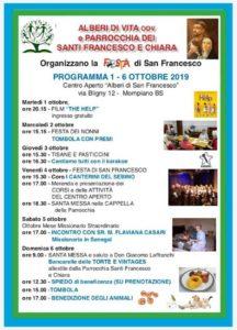Alberi di vita in festa @ Centro Alberi di San Francesco | Brescia | Lombardia | Italia