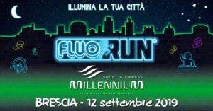 Fluo run Millennium @ ritrovo Piazzale Arnaldo