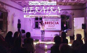 Heraira esperienza sonora armonizzante @ Circolo ARCI Brescia