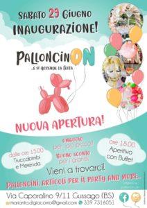 PalloncinON e si accende la festa @ PalloncinON