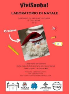 Laboratorio di Natale con Vivisanba! @ Oratorio di San Bartolomeo Brescia