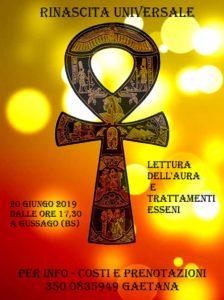Lettura dell'Aura e trattamenti Esseni @ Associzione Rinascita Universale | Gussago | Lombardia | Italia