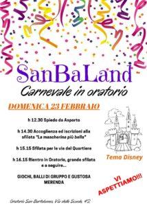 SanBaLand @ Oratorio di San Bartolomeo Brescia