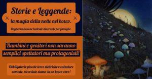 Storie e Leggende: la magia della notte nel bosco @ Giocabosco