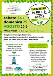 There Is No Planet B Garda Ecofestival @ Presso il Campo Rolly Manerba del Garda