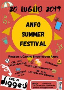 Anfo Summer Festival @ Campo sportivo
