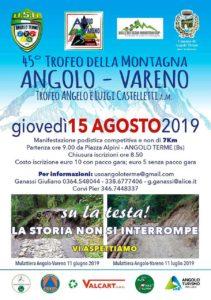 Trofeo della Montagna @ partenza Piazza Alpini