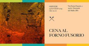 Cena al Forno Fusorio - Ritorno al cuore del Territorio @ Museo Il Forno