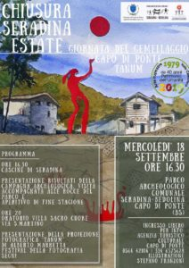 Festa di chiusura di Seradina Estate e gemellaggio! @ Parco Archeologico Comunale di Seradina-Bedolina | Capo di Ponte | Lombardia | Italia
