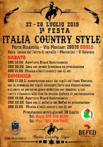 Italia Country Style a Odolo @ Parco Rinascita Odolo