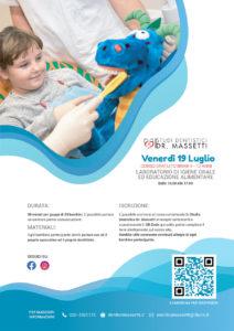 Laboratorio di igiene orale per bambini 4-12 anni @ Studio dentistico dr. Massetti