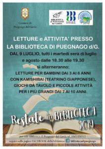 Estate in biblioteca a Puegnago @ biblioteca di Puegnago