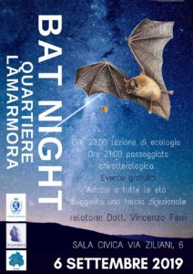 Bat Night @ Sala civica Brescia