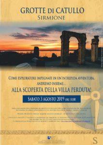 Alla scoperta della villa perduta @ Grotte di Catullo