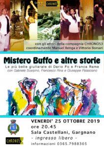 Mistero buffo e altre storie @ Sala Castellani | Gargnano | Lombardia | Italia