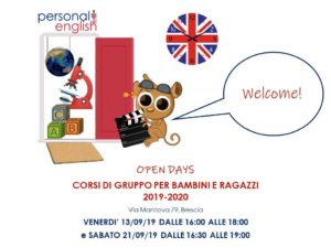 Personal English Open Days @ Personal English