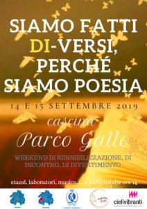 Siamo fatti DI-VERSI, perché siamo POESIA @ Cascina Parco Gallo