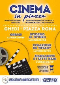 Cinema in piazza a Ghedi @ piazza Roma