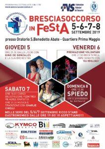 Bresciasoccorso in Festa @ oratorio S. Benedetto Abate