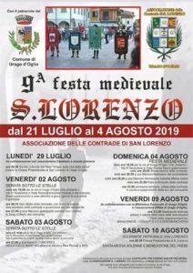 San Lorenzo e festa medievale a Urago d'Oglio @ Urago d'Oglio