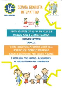 Gestione emergenze pediatriche @ parco di San Felice del Benaco