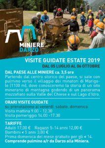 Miniere di Darzo - aperti per visite guidate @ Miniere Darzo