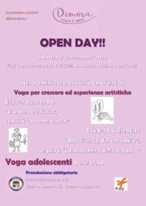 Dimora open day - yoga e attività artistiche @ Mazzano