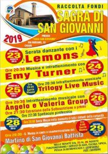 Sagra di San Giovanni a Chiari @ Oratorio San Giovanni