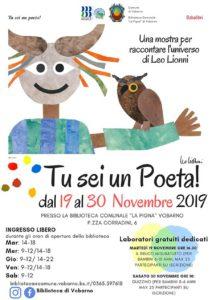 Tu sei un Poeta! Alla scoperta di Leo Lionni @ Biblioteca Vobarno | Vobarno | Lombardia | Italia