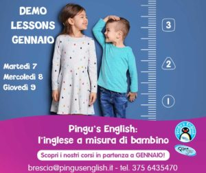 Demo lesson per provare Pingu's English  Brescia @ Pingu's English Brescia