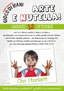 Giocodimani - Arte&Nutella @ Officina Creativa Il Nano e la Mela   Gussago   Lombardia   Italia