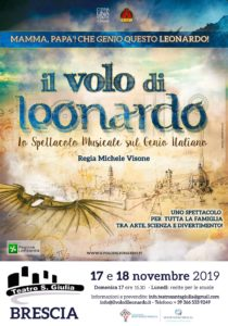 Il volo di Leonardo @ Teatro Santa Giulia