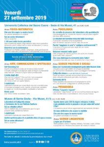 Meet me tonight - La notte dei ricercatori @ Università Cattolica e Brescia Musei