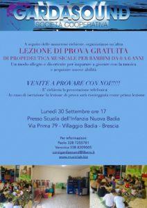 Open day Propedeutica musicale per bebè e bimbi @ Scuola dell'infanzia Nuova Badia | Brescia | Lombardia | Italia