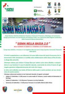 Sisma nella Bassa @ (zona Campo Sportivo Comunale/ Palazzetto dello Sport