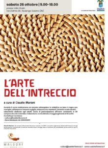 L'arte dell'intreccio @ Progetto Internazionale Libera Scuola Waldorf Brescia | Rodengo-Saiano | Lombardia | Italia