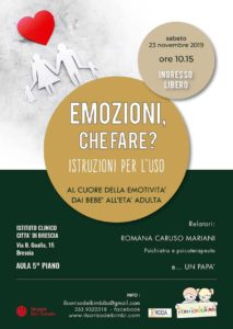 Emozioni, che fare? @ Istituto Città di Brescia 5° piano | Brescia | Lombardia | Italia