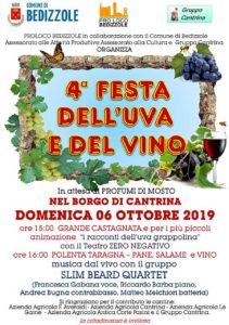 Festa dell'uva e del vino a Bedizzole @ Borgo di Cantrina