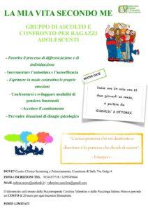 La mia vita secondo me @ centro clinico Screening e potenziamento | Case Nuove | Lombardia | Italia
