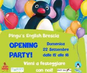 Opening party - Pingu's English  Brescia @ Pingu's English Brescia