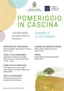 Pomeriggio in cascina @ Cascina Gioia