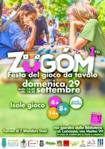 ZÜgom: festa del gioco @ Biblioteca di Concesio