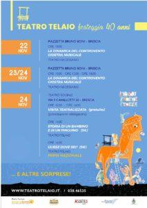 Spettacoli e sorprese per i 40 anni del Teatro Telaio @ Brescia | Lombardia | Italia