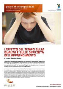 L'effetto del tempo sulla qualità e sulle difficoltà dell'apprendimento @ Oratorio Santa Maria in Silva | Rodengo-Saiano | Lombardia | Italia