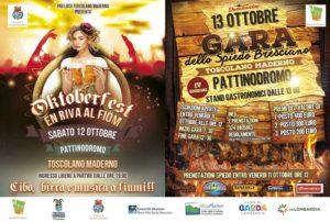 Oktoberfest en riva al fiöm e Gara dello Spiedo Bresciano IV edizione @ Pattinodromo Toscolano