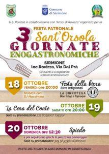 Festa patronale di Sant'Orsola @ loc Rovizza