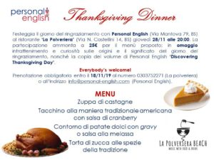 Thanksgiving dinner @ ristorante 'La Polveriera