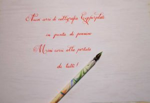 Calligrafia e Copperplate @ Fantasia Shop
