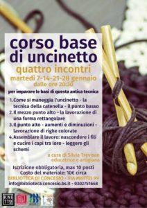 Corso di uncinetto @ Biblioteca di Concesio | Concesio | Lombardia | Italia